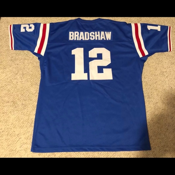 half off 7b2c7 1a2d9 Authentic Terry Bradshaw FOOTBALL JERSEY SIZE XXL
